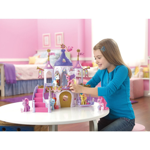 my little ponny royal wedding castle playset