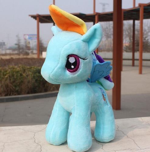 my little pony 25 cm azul rainbow dash friendship is magic