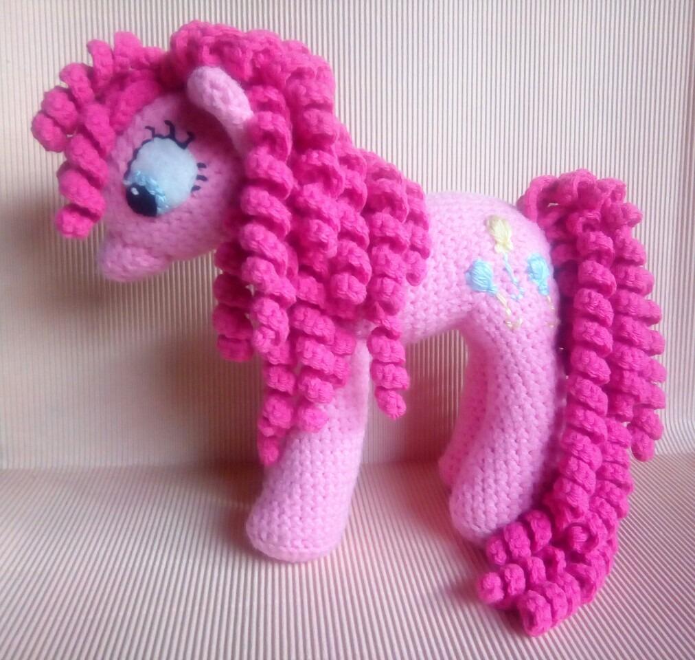 Hermosa Mi Patrón De Crochet Pequeño Pony Embellecimiento - Ideas de ...
