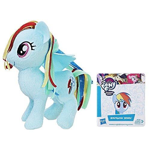 my little pony amistad es magia rainbow dash pequeño peluche