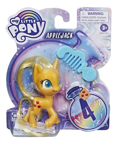 my little pony applejack  mini figura  hasbro original e9153