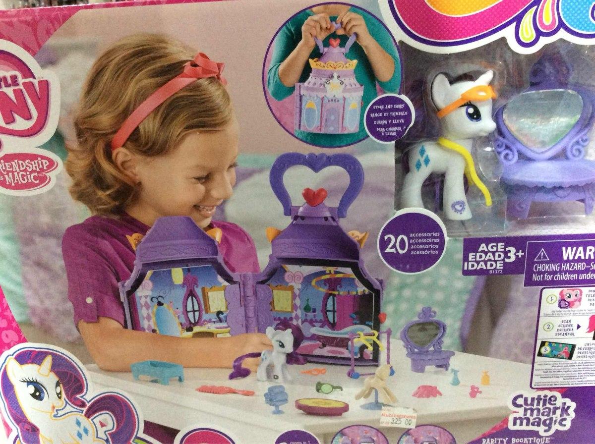 Cutie Mark Magic Rarity Booktique Playset My Little Pony B1372 Hasbro