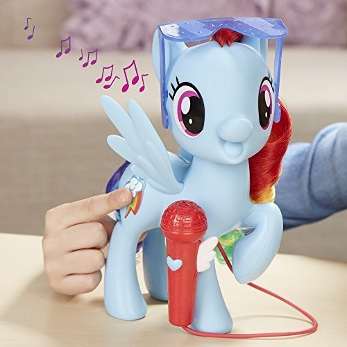 my little pony cantando rainbow dash
