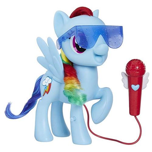 my little pony cantando rainbow dash muñeca playset
