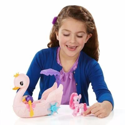 my little pony cisne magico pinkie pie hasbro giro didáctico