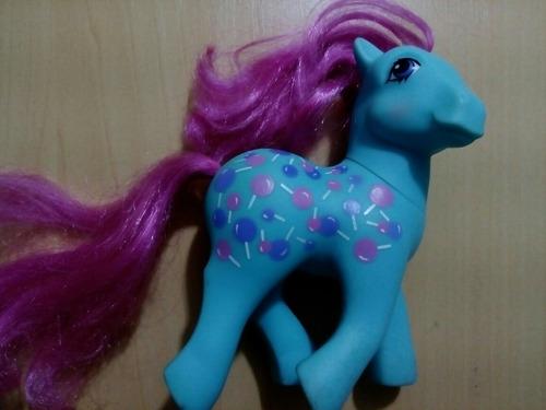 my little pony dulce 1987 hecho en hong kong