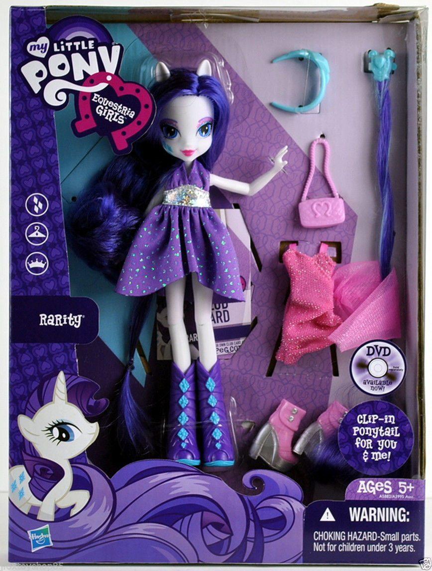 My Little Pony Equestria Girl Rarity Set Y Accesorios