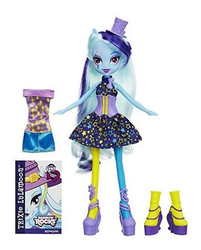 my little pony equestria girls rainbow rocks trixie lulamoon