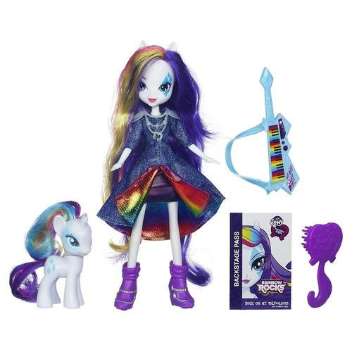 my little pony equestria girls rarity con accesorios