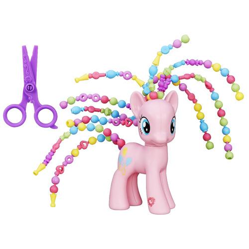 my little pony explore penteados pinkie pie 15cm hasbro 3603