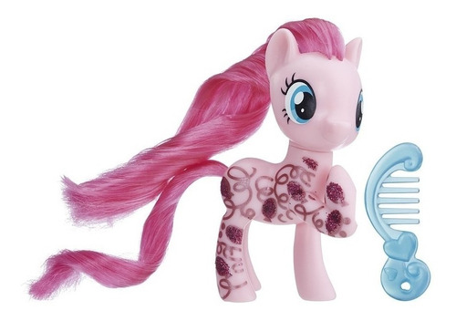 my little pony - figura pinkie pie con diseño brillante ...