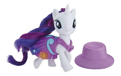 my little pony - figura rarity - escuela de la amistad - ...