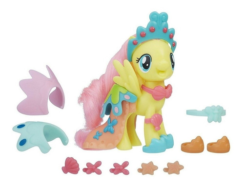 my little pony fluttershy land & sea fashion (1462)