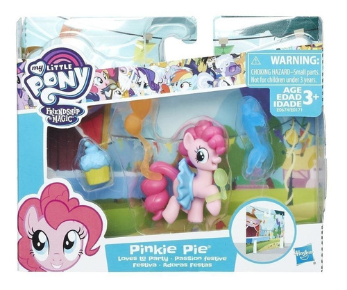 my little pony friendship is magic pinkie pie story set