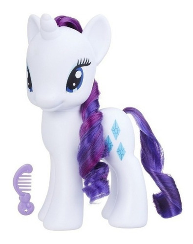 my little pony friendship magic pequeño pony con peine
