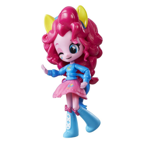 my little pony juguete mini equestria girls básica pinkie pi