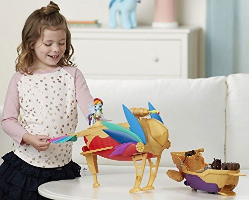 my little pony: la película rainbow dash swashbuckler pirata