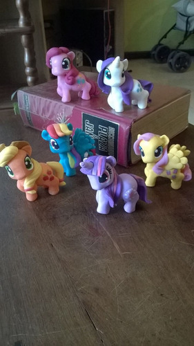my little pony, miniatura en porcelana fria!!