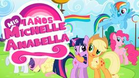 My Little Pony Movie Video Tarjeta Invitación Cumpleaños Wha