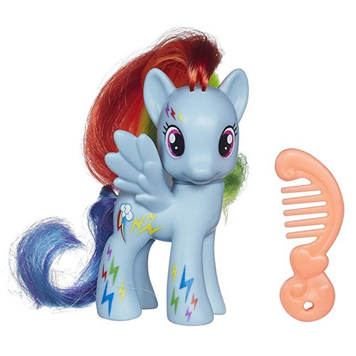 my little pony neon rainbow potencia rainbow dash muñeca