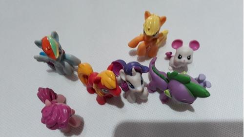 my little pony pack 8 figuras. envío gratis chilexpress