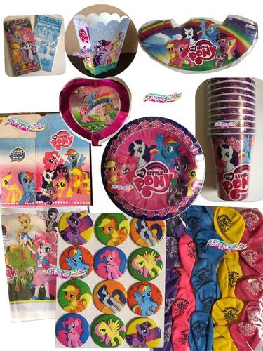 my little pony  platos vaso desechables globos todo fiesta