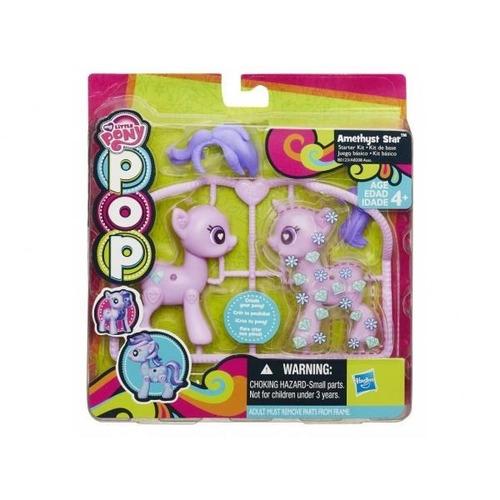 my little pony pop pony para armar y decorar violeta kit bas