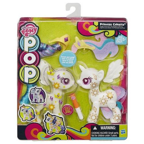 my little pony, princesa celestia diseña tu pony kit