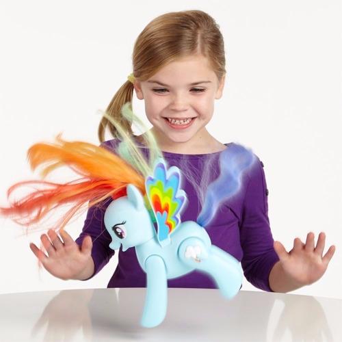 my little pony rainbow dash volteretas y frases orig. hasbro
