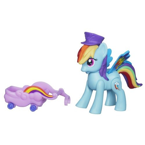 my little pony rainbow dash zoom n go muñeca