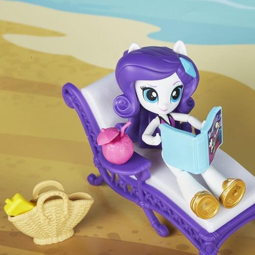 my little pony rarity relax en la playa (4230)