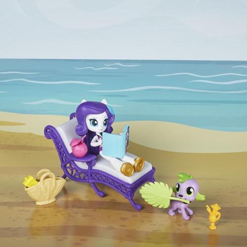 my little pony relax en la playa rarity (4230)
