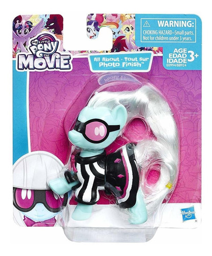 my little pony: the movie all about photo finish.