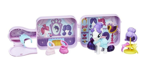 my little pony: the movie - boutique espejo de rarity (3784)