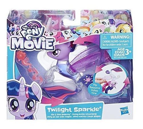 my little pony the movie twilight sparkle flip - figura de f