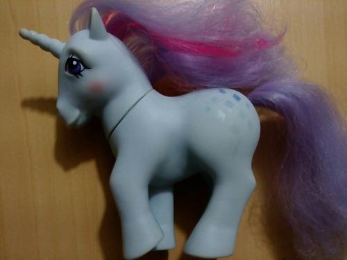 my little pony unicornio 1984 hecho en hong kong