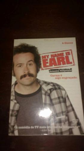 my name is earl 1ª temporada 04 dvd's originais