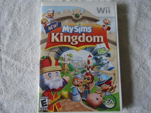 my sims kingdom nintendo wii y wii u