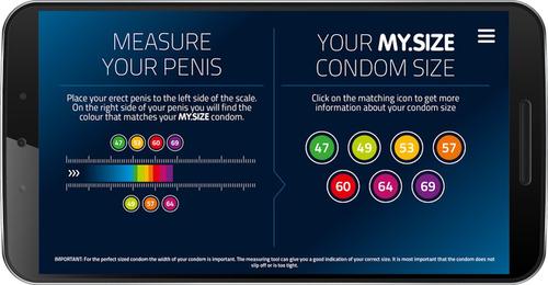 my size 49 - 36 condones de talla perfecta envio gratis