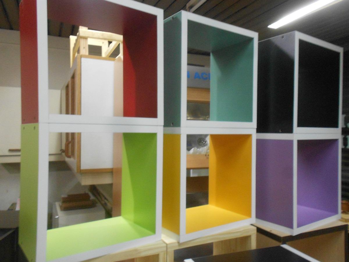 Mya1047 Muebles Cubos Colores Infantiles Biblioteca 40 30 20  # Muebles Jugueteros Para Ninos