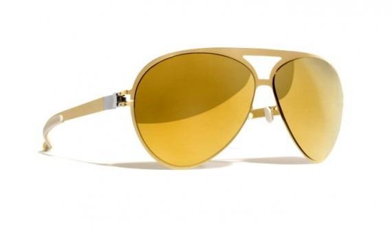 a364a36272858 Mykita - Óculos Franz Espelhado Dourado - R  369