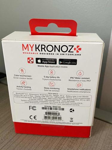 mykronoz - reloj deportivo nuevo