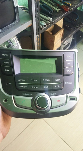 mylink usb rádio cd - original hyundai hb20