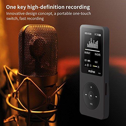 mymahdi reproductor de música mp3 de 8gb pantalla de 18 pulg