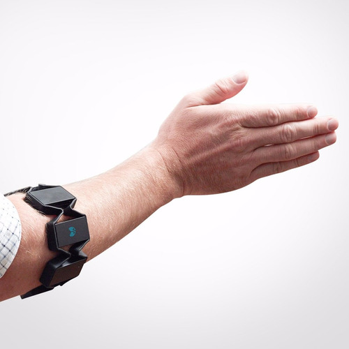 myo gesture control armband  banda antebrazo control remoto