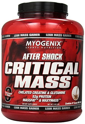 myogenix aftershock masa crítica milkshake 562 libras 1