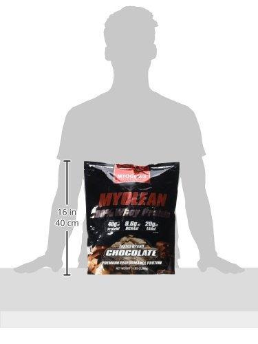 myolean 100% whey protein powder, chocolate, 5 myogenix