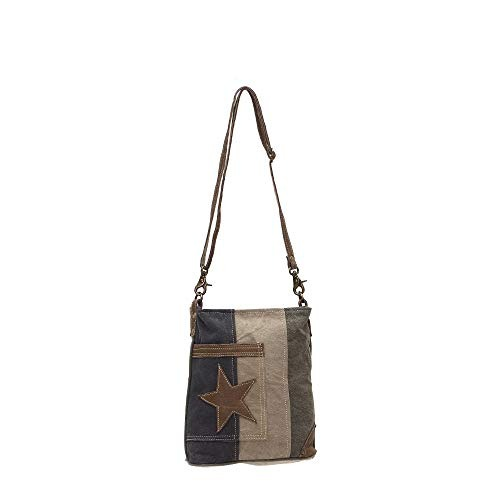 f76100d30 Myra Bags Star On Denim Bolso De Lona Upcycled Canvas M-0950 - $ 221.777 en  Mercado Libre