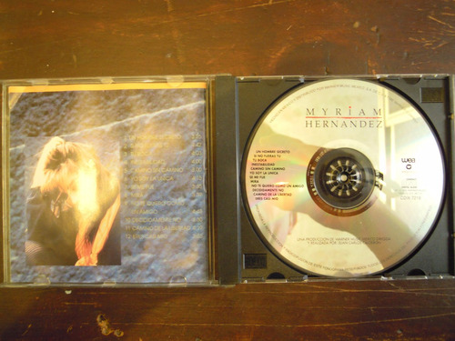 myriam hernandez cd homonimo