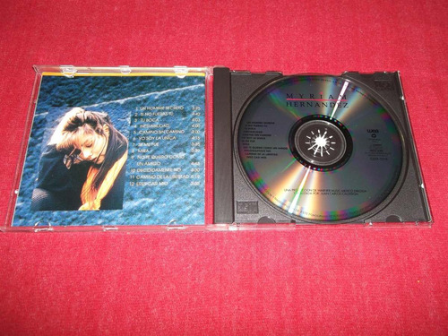 myriam hernandez - homonimo cd nacional ed 1992 mdisk